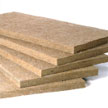 Stone wool boards
